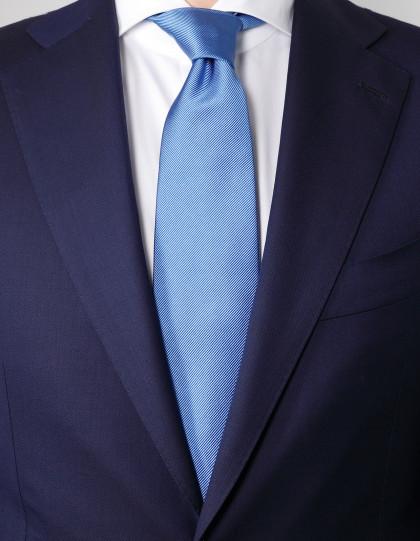 Cesare Attolini Krawatte in hell blau ungefüttert