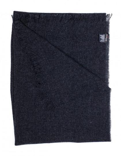 Kiton Schal in schwarz-grau aus Kaschmir