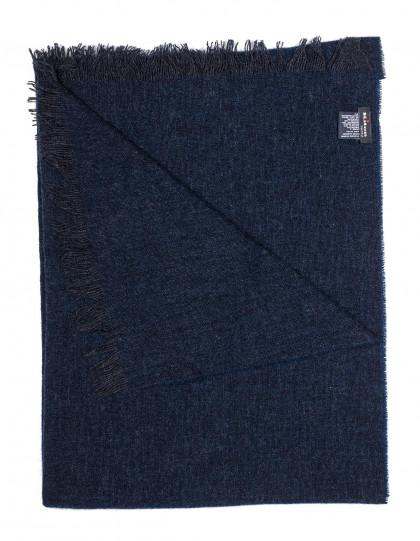 Kiton Schal in dunkelblau aus Kaschmir