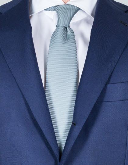 Kiton Krawatte in grau mit Struktur