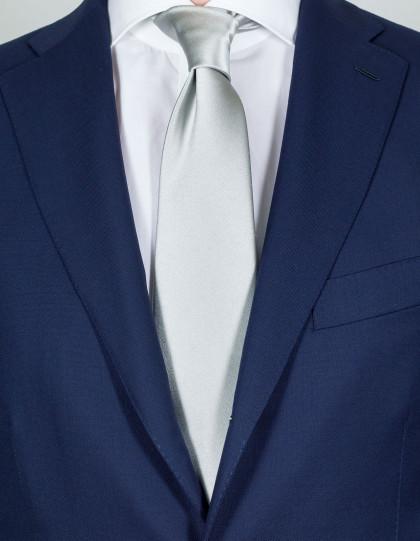 Luigi Borrelli Krawatte in silber