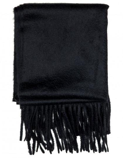 Kiton Schal in schwarz aus Kaschmir