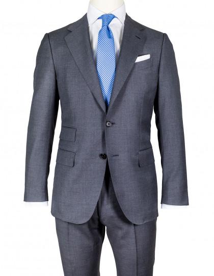 Caruso Anzug in schiefergrau aus Super 130'S Wolle