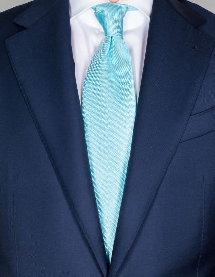 Luigi Borrelli Krawatte in mint mit Struktur