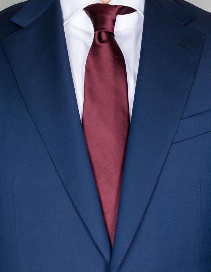 Kiton Krawatte in rotbraun
