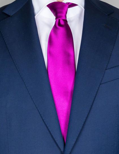 Kiton Krawatte in violett