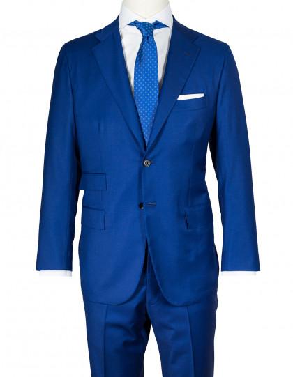 Kiton Anzug in blau