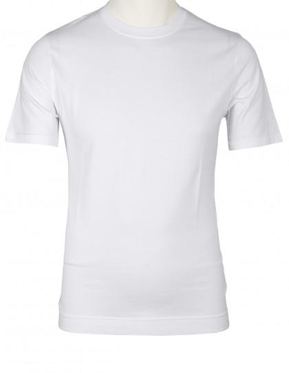 Fedeli T-Shirt in weiß aus Jersey