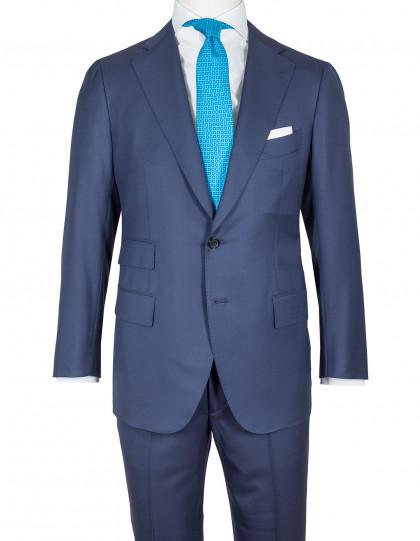 Cesare Attolini Anzug in dunkelblau aus Super 160'S Wolle