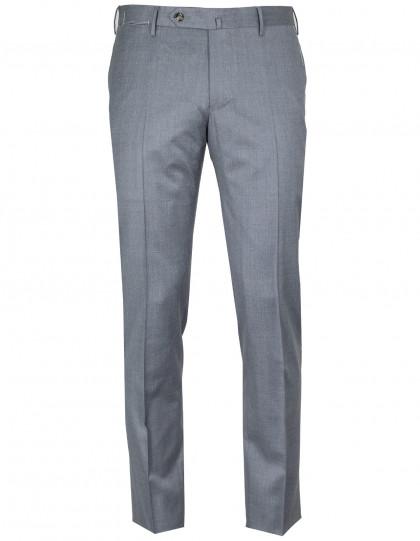 "PT01 Kombinationshose Slim Fit in grau aus ""Deluxe Comfort Wool"" Schurwolle"