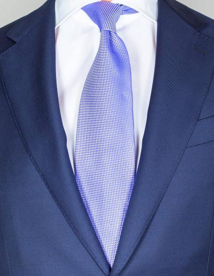 Cesare Attolini Krawatte in lila mit Struktur