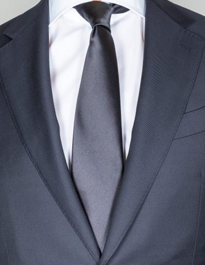 Kiton Krawatte in schwarz