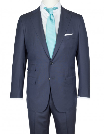 Kiton Anzug in dunkelblau