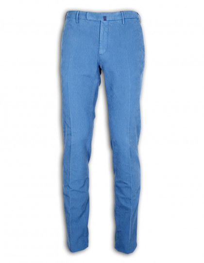 Incotex HIGH COMFORT Chino in blau
