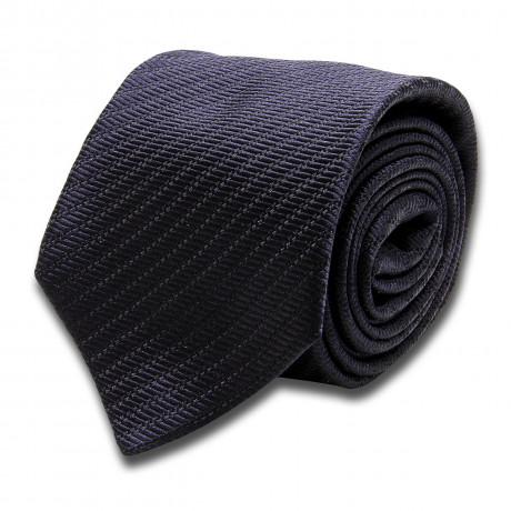 Kiton Krawatte dunkel braun strukturiert
