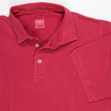 Fedeli Polo in rot