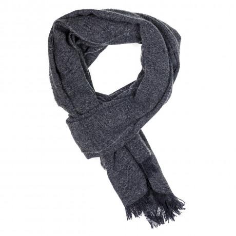 Kiton Schal in grau aus Kaschmir