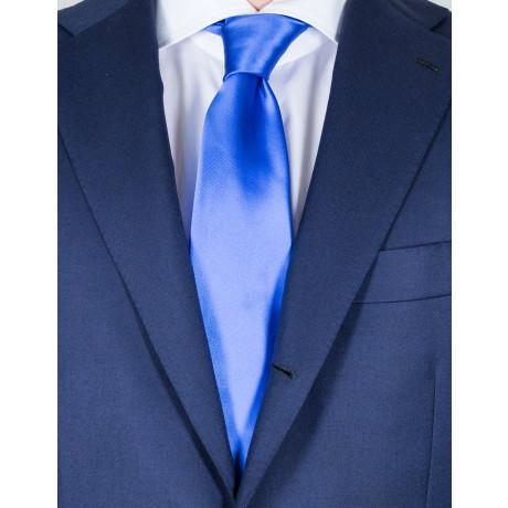 Kiton Krawatte in hellblau