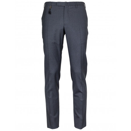 Incotex Hose Slim Fit in grau aus Super 130'S Wollei
