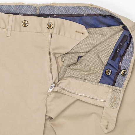 "PT01 Chino ""Lux Cloth"" Slim Fit in beige"