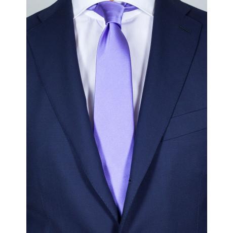 Kiton Krawatte in flieder