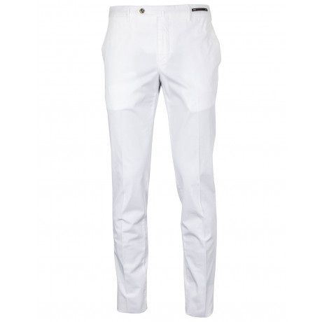 PT01 Chino Slim Fit in weiß