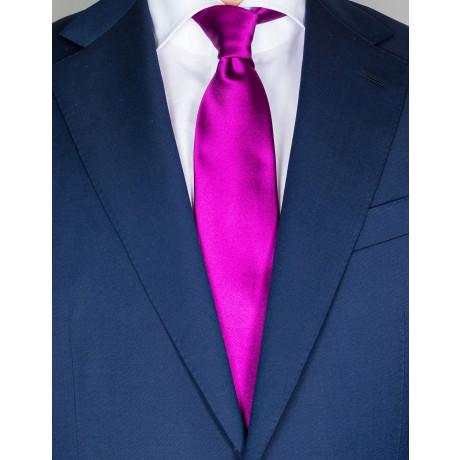 Kiton Krawatte in purpur