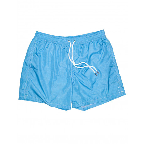 """Fedeli Badehose """"Madera Airstop Stampato"""" in blau"""
