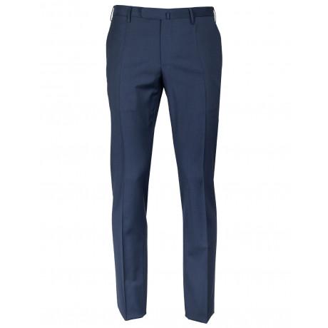 Incotex Kombinationshose Slim Fit in dunkelblau aus Super 130'S Wolle