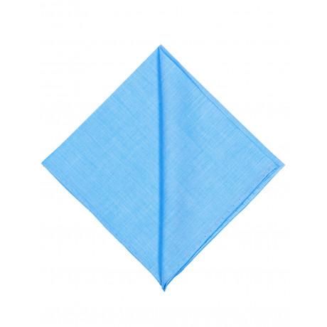 Finamore 1925 Einstecktuch in himmelblau