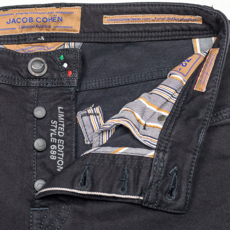 "Jacob Cohen Jeans J688 Comfort ""Limited Edition"" in schwarz"