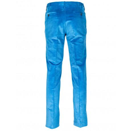 Rota Feincordhose in blau