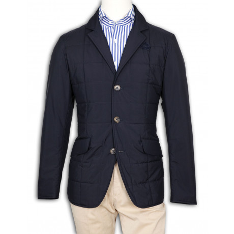 Loro Piana Jacke Burlington in blau