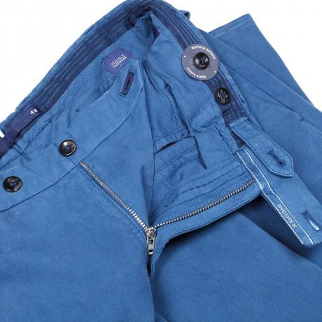 Incotex HIGH COMFORT Chino in blau