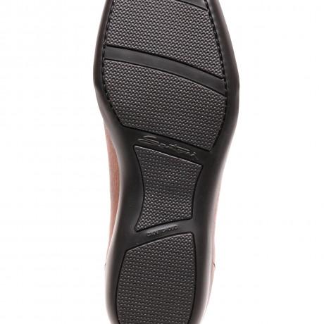 Santoni Sneaker in schwarz aus Glattleder