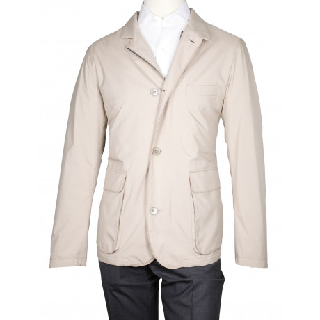 Loro Piana Roadster S Wind Hopkins Jacke in beige