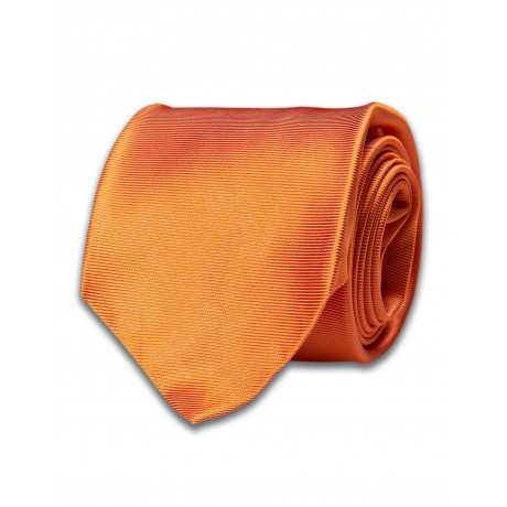 Kiton Krawatte orange