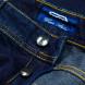 Cesare Attolini Jeans in dunkelblau leicht verwaschen aus Baumwolle/Kaschmir 4