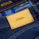 Cesare Attolini Jeans in dunkelblau leicht verwaschen aus Baumwolle/Kaschmir 5